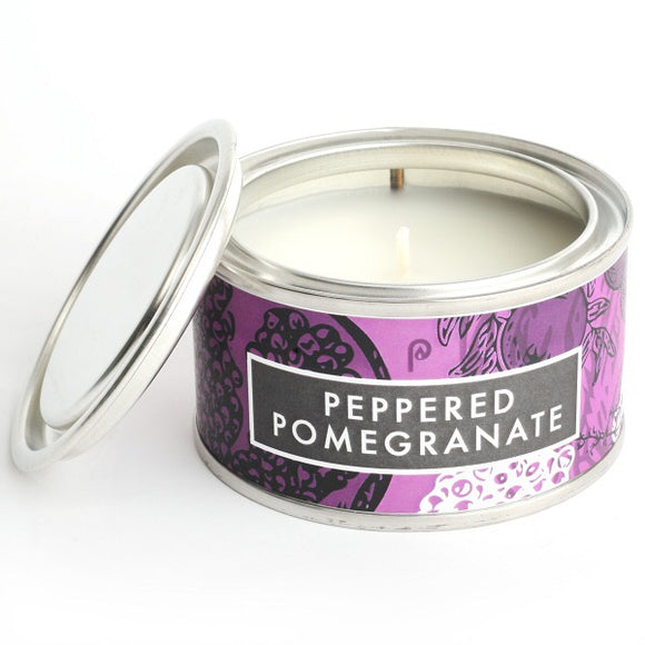 Peppered Pomegranate Candle