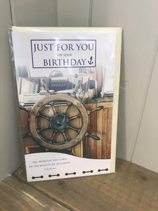 Just for you on your Birthday Card