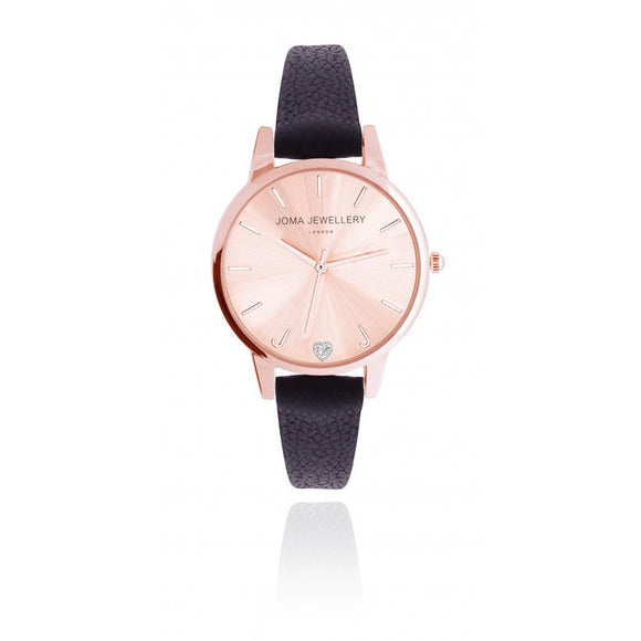 Lexi Rose Gold Watch (5878995091616)