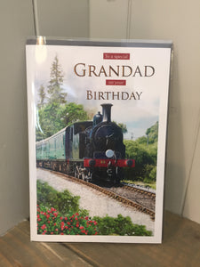 To a special Grandad on your Birthday Card