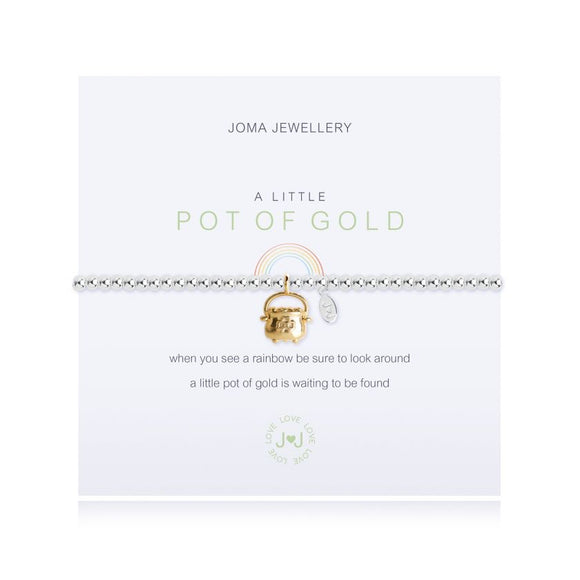 Joma Jewellery, Jewellery,  Allie Mae Living ,  A Little Pot of Gold Bracelet - Allie Mae Living