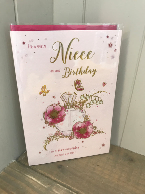 For a Special Niece on your Birthday Card