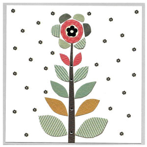 Cinnamon Aitch, Cards,  Allie Mae Living ,  Flower Blank - Allie Mae Living