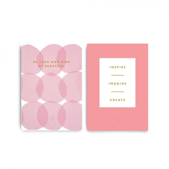 Be Your Own Kind Of Beautiful Duo Notebooks (5741875986592)