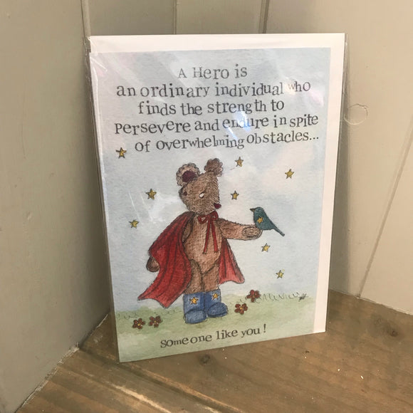 Hero someone like you - Card