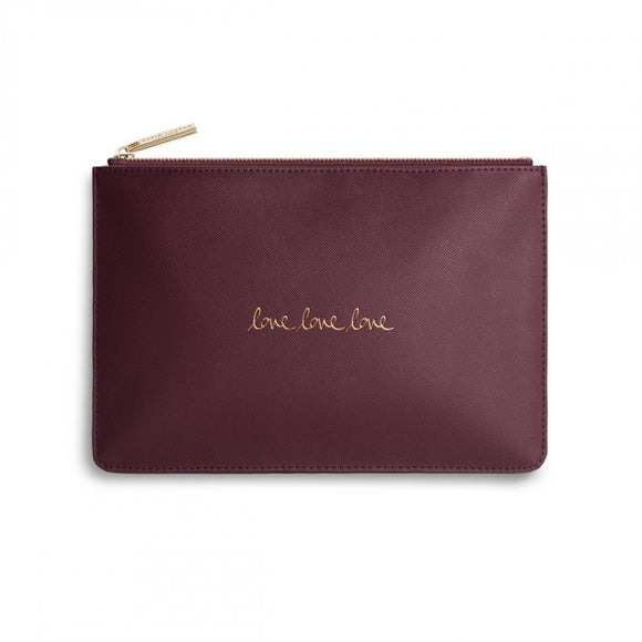 Love Love Love Perfect Pouch (5648659349664)