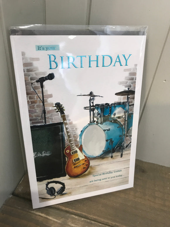 It's your Birthday (Music) Card