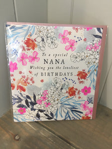 To a Special Nana Card