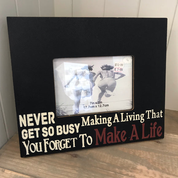 Make a Life 7x5 Photo Frame