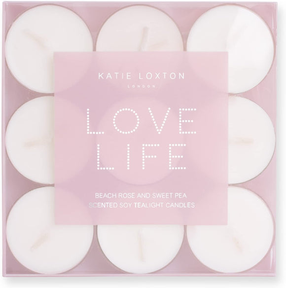 Love Life Tealight Candles
