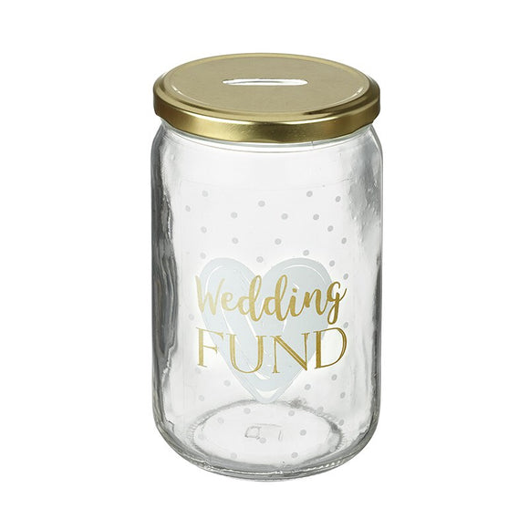 Heaven Sends, Fund Jar,  Allie Mae Living ,  Wedding Fund Jar - Allie Mae Living