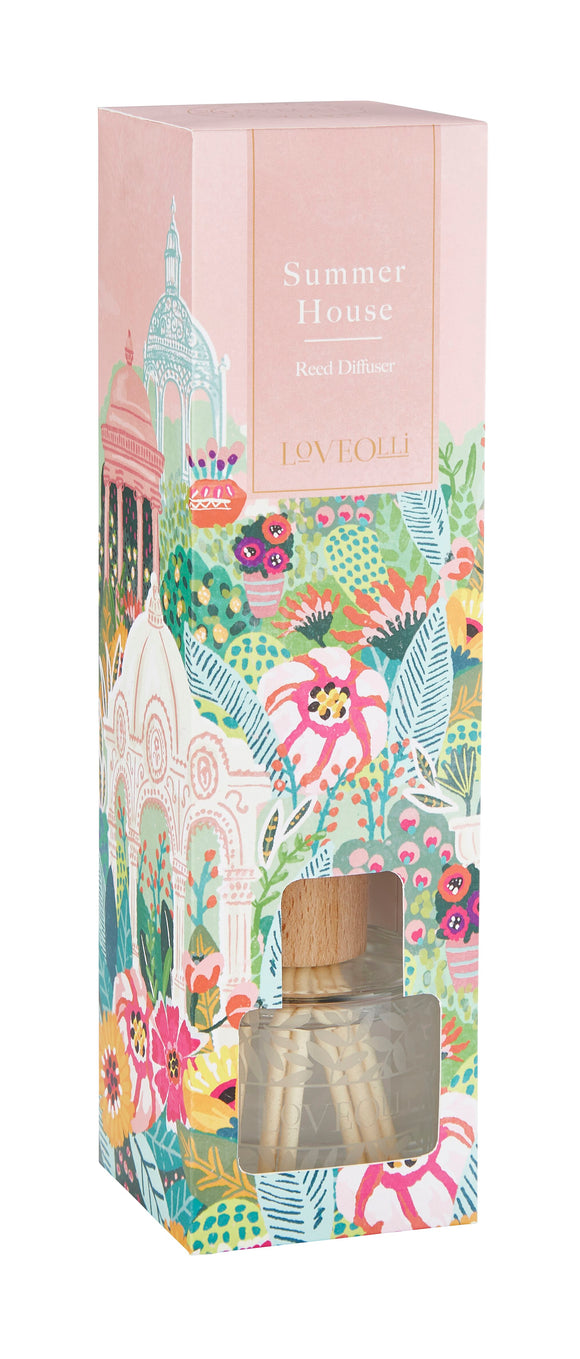 Love Olli, Diffuser,  Allie Mae Living ,  Summer House Reed Diffuser - Allie Mae Living