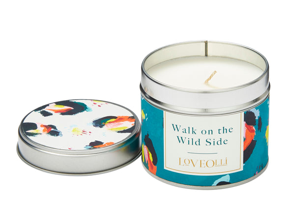 Love Olli, Candle,  Allie Mae Living ,  Walk On The Wild Side Tin Candle - Allie Mae Living