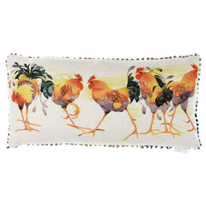 Voyage Maison, Cushion,  Allie Mae Living ,  Cockerals Filled Cushion - Allie Mae Living