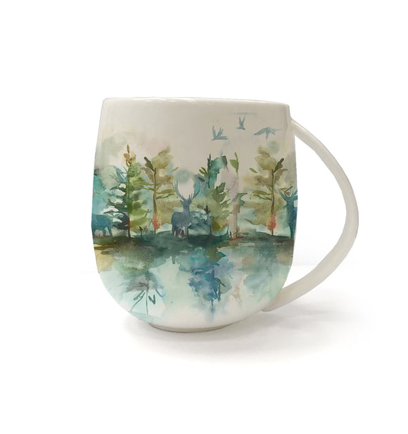 Voyage Maison, Mug,  Allie Mae Living ,  Wilderness Topaz Mug - Allie Mae Living