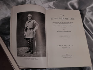 THE LONG ARM OF LEE, OR THE HISTORY OF THE ARTILLERY OF THE ARMY OF NORTHERN VIRGINIA WITH A BRIEF ACCOUNT OF THE CONFEDERATE BUREAU OF ORDINANCE. - 1915 1st