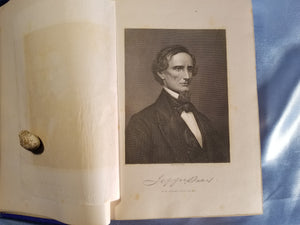 THE DAVIS MEMORIAL VOLUME; OR OUR DEAD PRESIDENT, JEFFERSON DAVIS, AND THE WORLD'S TRIBUTE TO HIS MEMORY-1890 1st