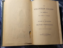 The Volunteer Soldier Of America. With Memoir Of The Author And Military Reminiscences From General Logan's Private Journal. -1887 1st