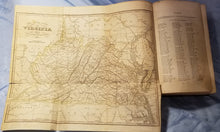 HISTORICAL COLLECTIONS OF VIRGINIA - 1852 w/Fold Out Map