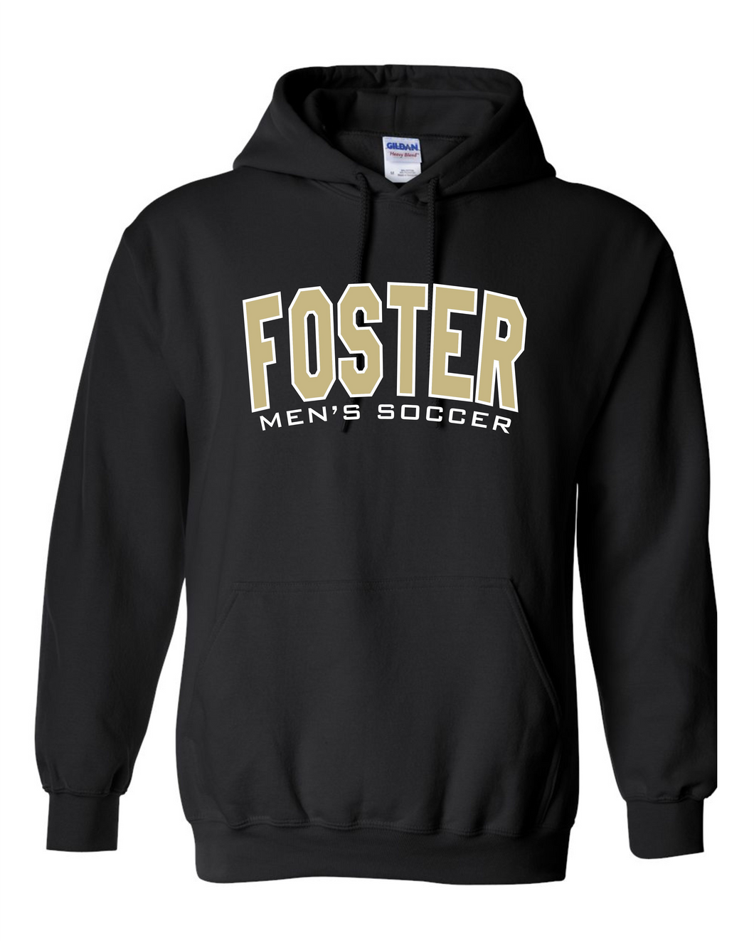 Foster High School Men's Soccer Fan Hoodie [LAST NAME: R-Z]