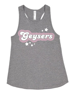 Youth Glitter Lat Swing Racerback Tank