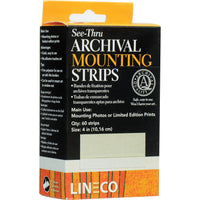 LINECO MOUNTING STRIPS - Transparente