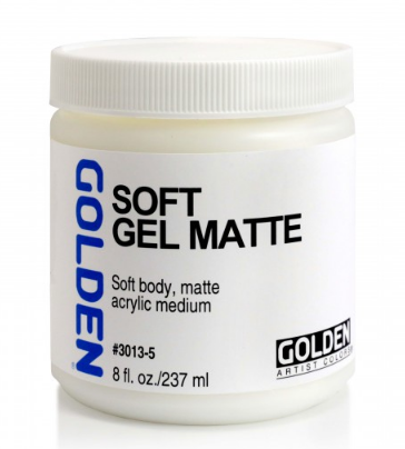 GOLDEN® GEL MEDIUMS, Soft Gel (Mate)