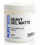 GOLDEN® GEL MEDIUMS, Heavy Gel (mate)
