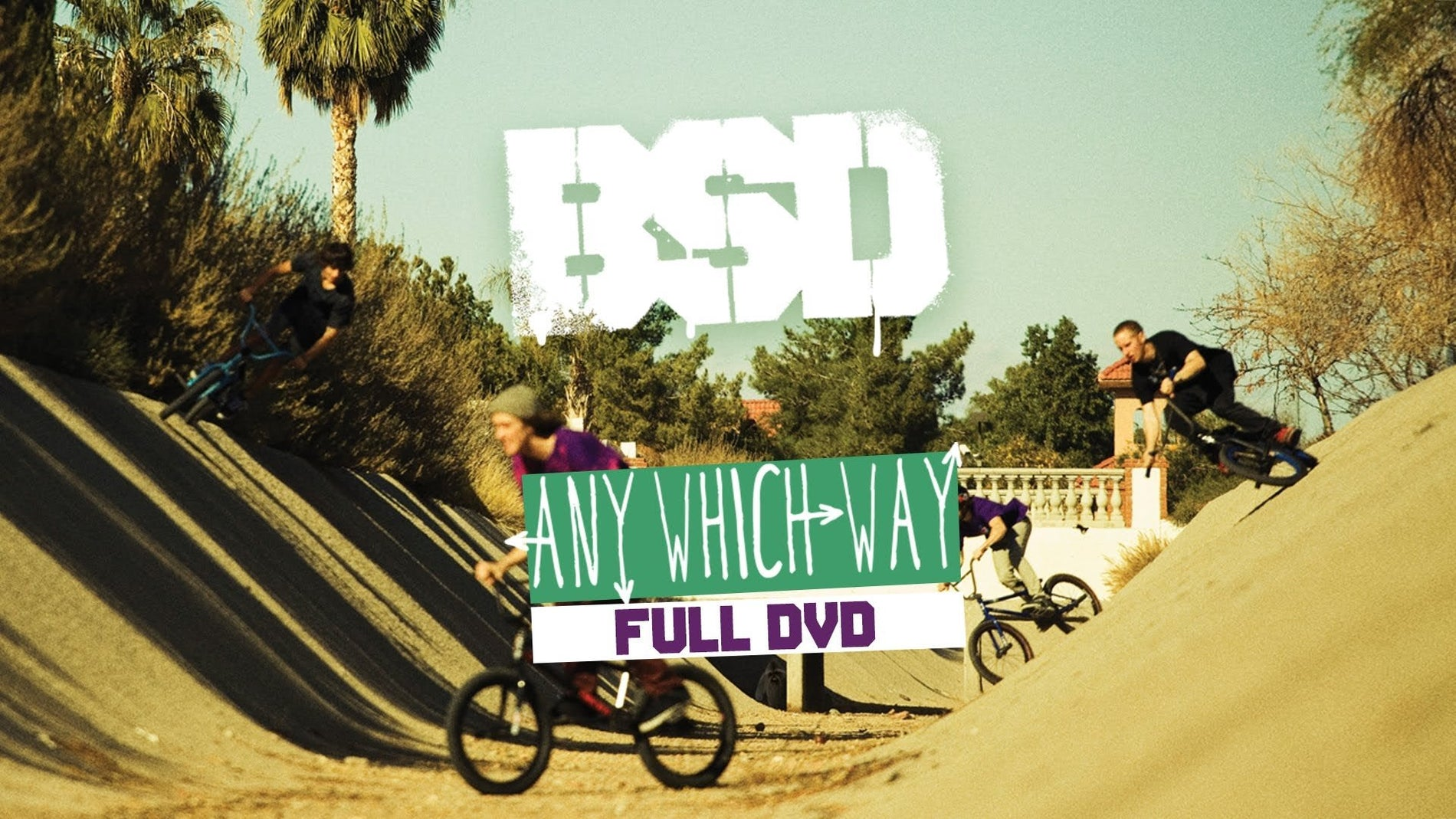 'Any Which Way' Full DVD