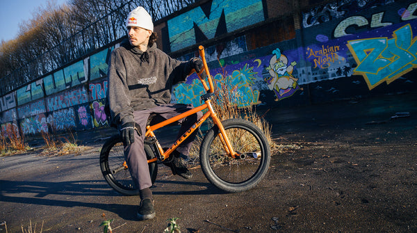 Kriss Kyle Lava Orange Bike Check