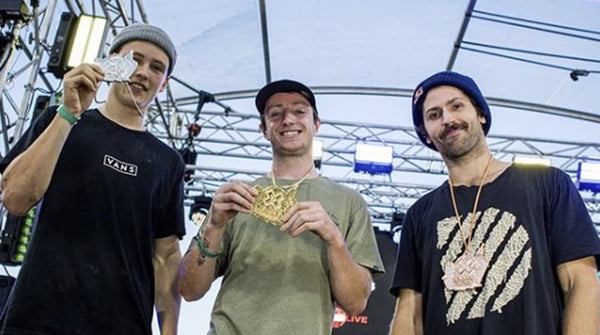 Alex D wins X-games gold!!!