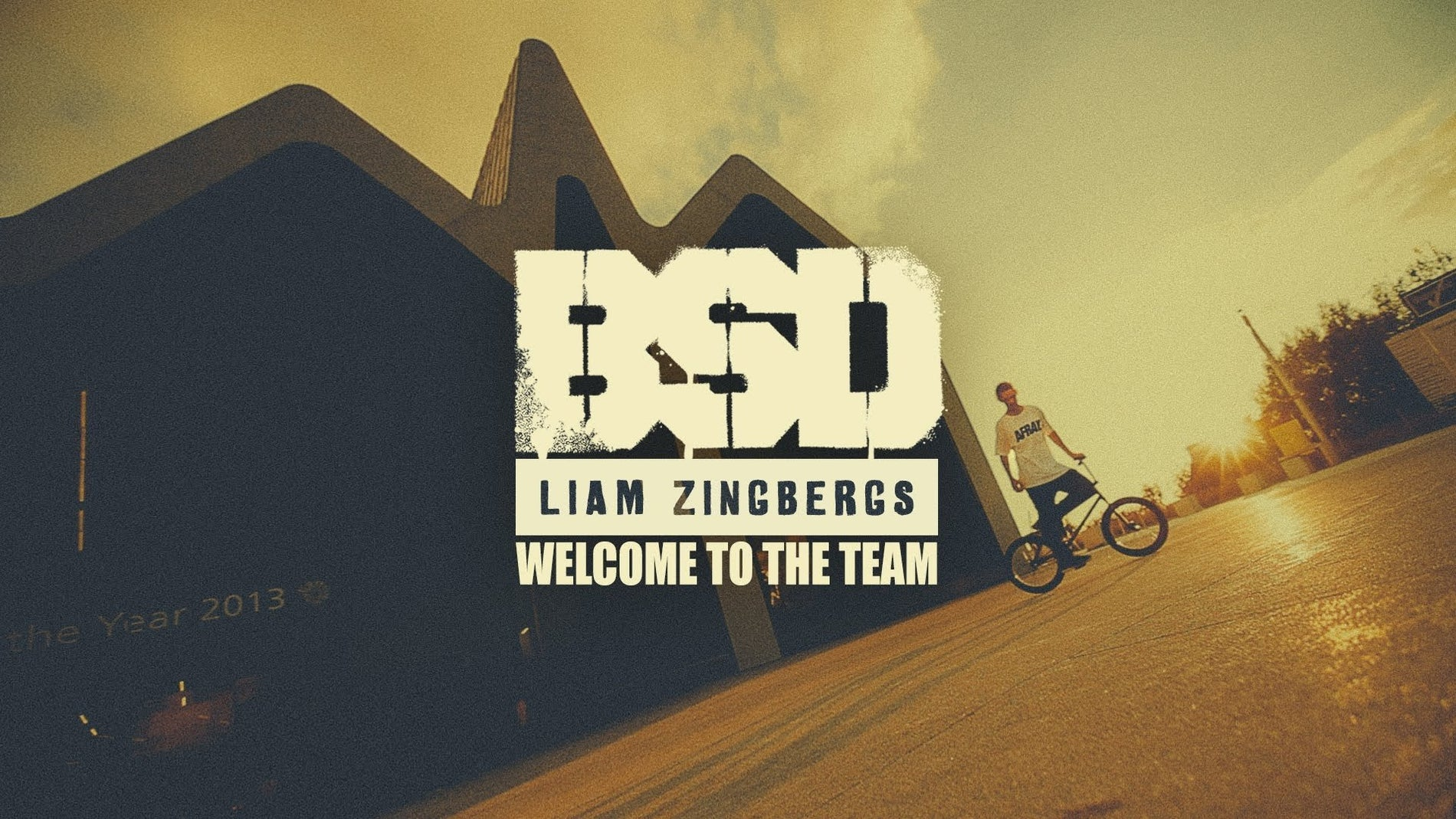 Liam Zingbergs - Welcome to the Team