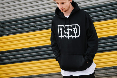 OUTLINE HOODED SWEATSHIRT