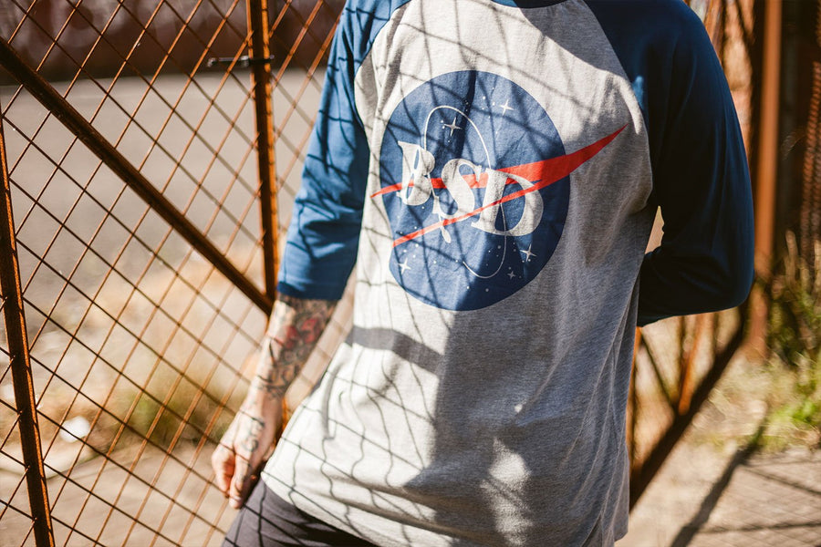 SPACE AGENCY BASEBALL SHIRT