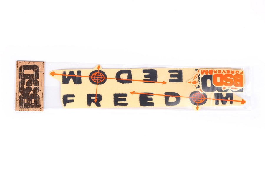 Freedom Frame Sticker Pack