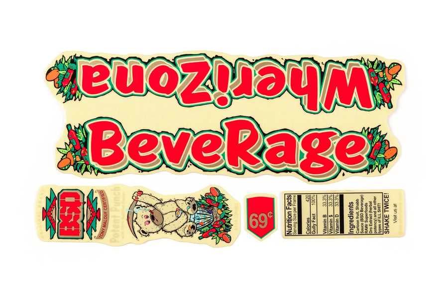 Beverage Frame Sticker Pack