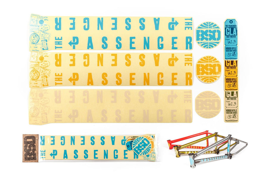 Passenger Frame Sticker Pack