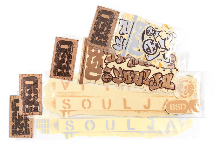 Soulja Frame Sticker Pack