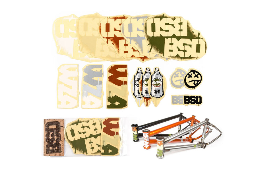 WZA Frame Sticker Pack