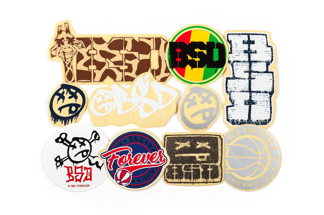 BSD Classics sticker pack