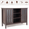 "Wooden TV Stand Console Cabinet for 45"" TV"
