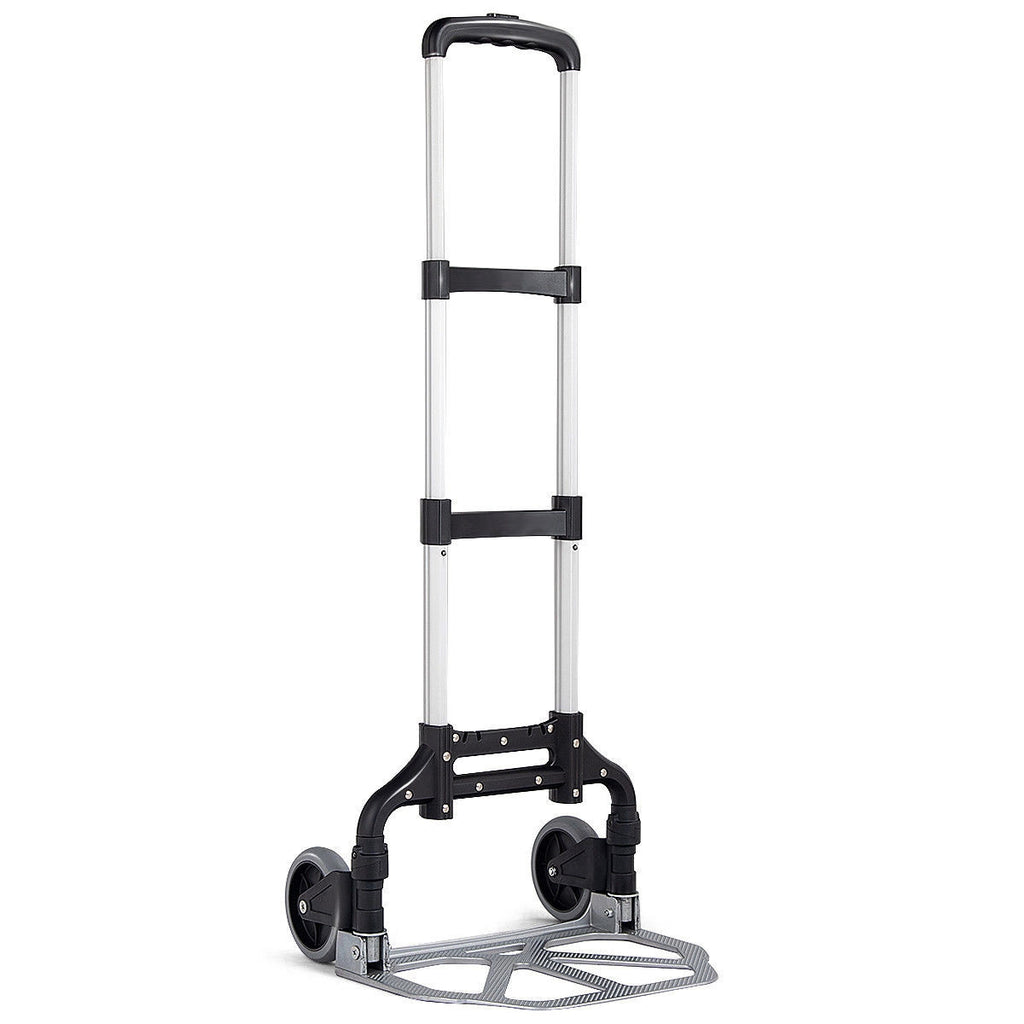 Folding 176 lbs Capacity Heavy Duty Hand Truck with 2 Wheels