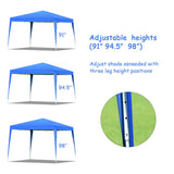 Outdoor Foldable Portable Shelter Gazebo Canopy Tent