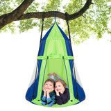 Kids Hanging Chair Swing Tent Set