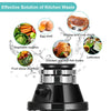 2600 RPM Garbage Disposal 1 HP Household Food Waste Disposal