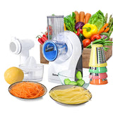 3-in-1 Electric Food Processor Juicer Frozen Dessert Maker