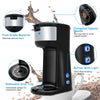 Portable Coffee Maker for Ground Coffee and Coffee Capsule