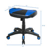 Multi-Use Footrest Swivel Height Adjustable Gaming Ottoman Footstool Chair