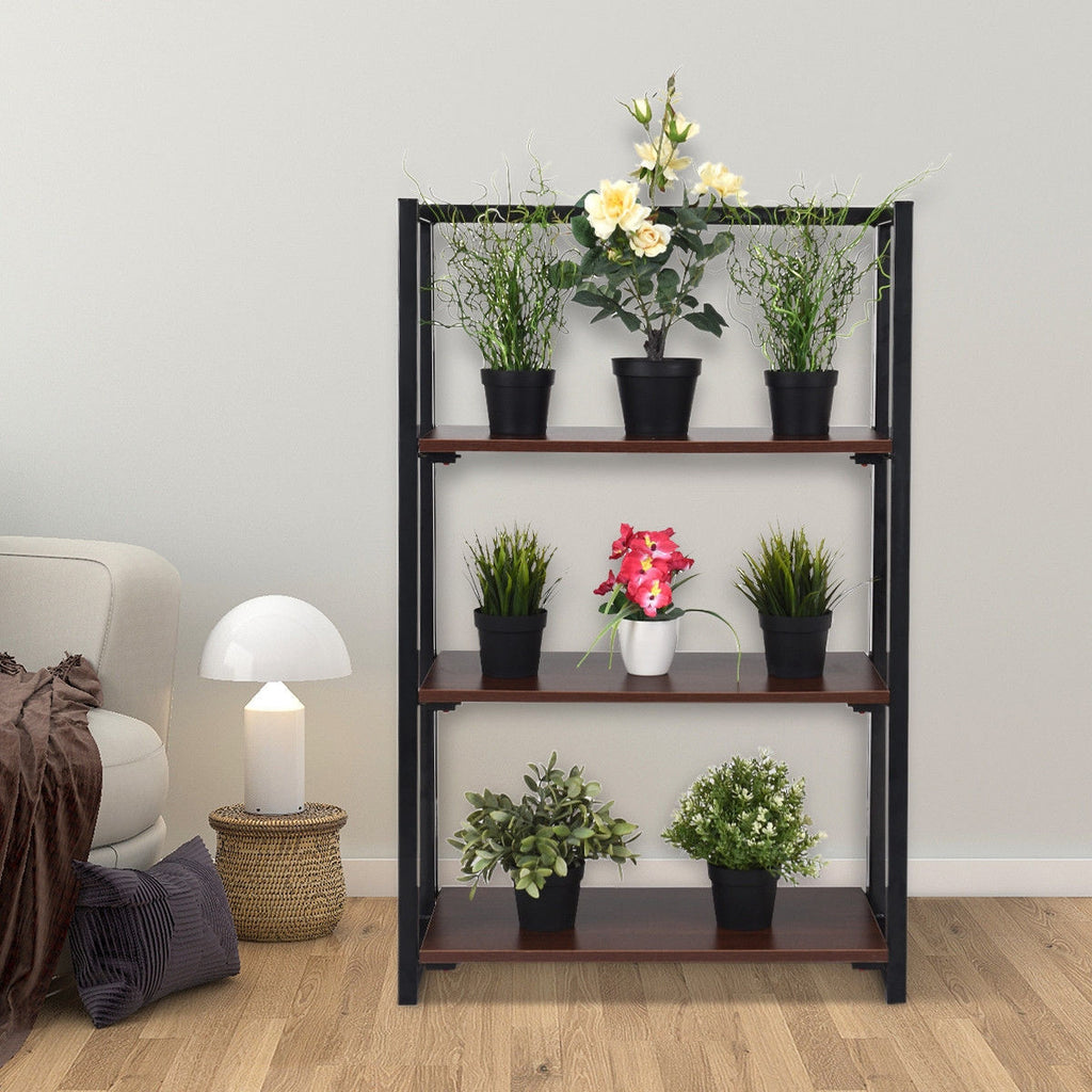 3 Tier Multifunctional Plant Flower Display Stand Ladder Shelf