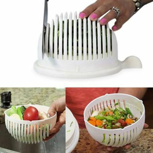 Salad Chopper Bowl Quick Slicer